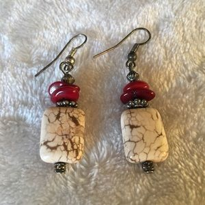 Beautiful Earrings with Natural Stones